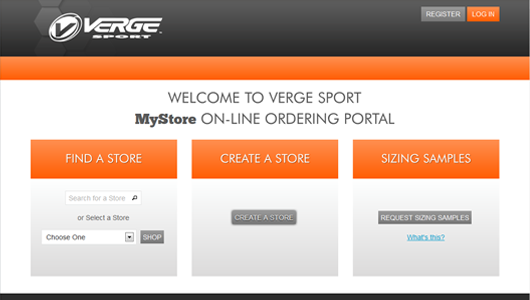 Example of Ecommerce Portal done by custom web development company Business Edge