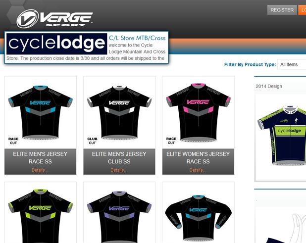 The Work   Verge Sport – Custom Web Development  050c37c95
