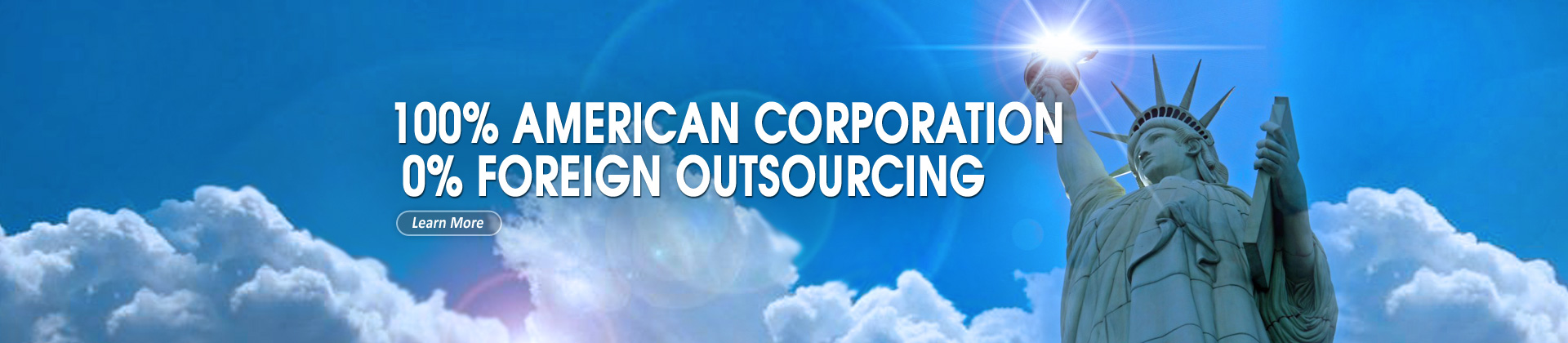 Business Edge works only with American workers and does not outsource